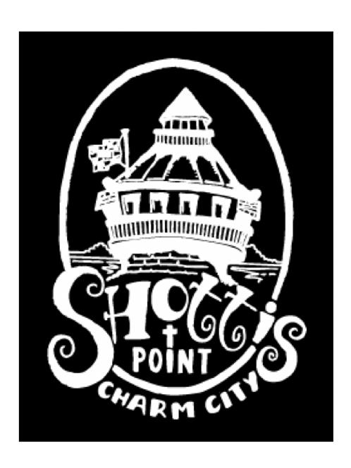 Shotti's Point Charm City Lighthouse Sticker