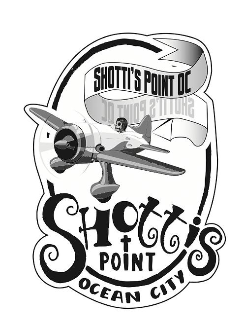 Shotti's Point OC Plane Sticker