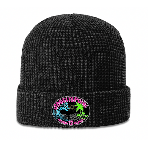 Shotti's Point Black Beanie