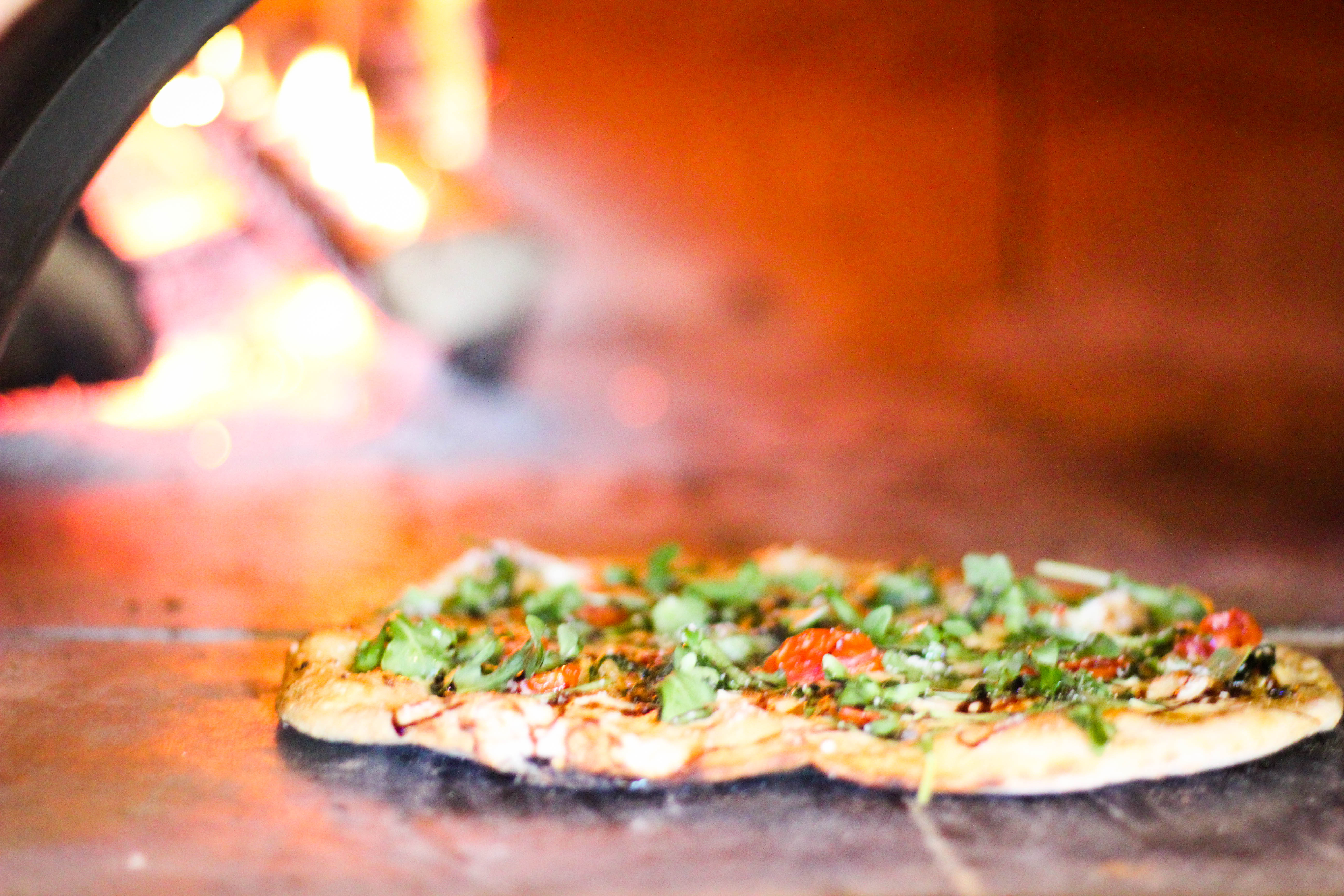 Wood-Fired Capo Pizza