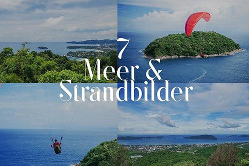 7 Meer- & Strandbilder