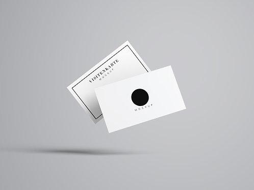 Visitenkarten Mockup