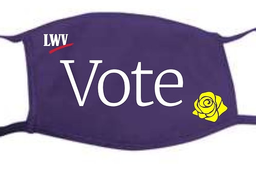 Purple Vote Mask