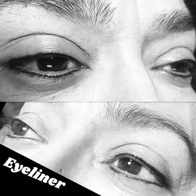 Permanent Eyeliner #eyelinertattoo #linethateye #pmu #permanentmakeup #pmuberwyn #audreysesthetics