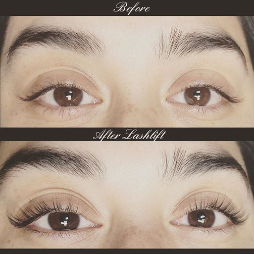 Lashlift for these beautiful long fill l