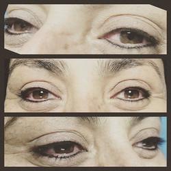 Permanent eyeliner for this brown eyed beauty #pmu #permanentmakeup #wontwashoff #wontsmear #smokeye