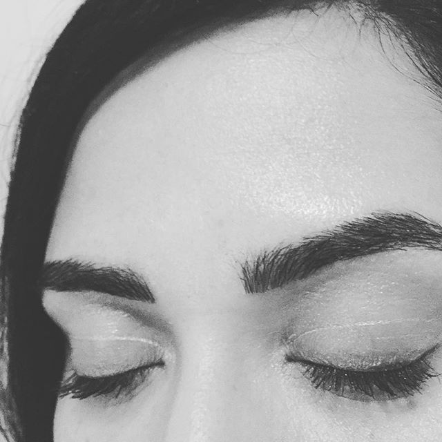 Eyebrows looking fabulous! #eyebrowextentions #esthetician #eyebrowsonfleek #bookme #styleseat