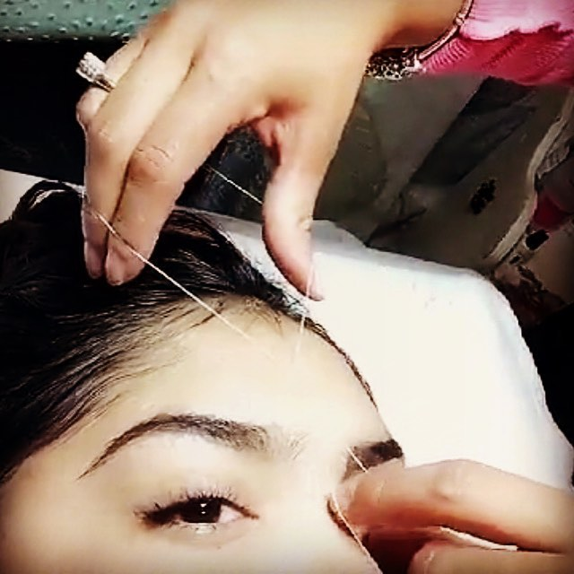 Yep that's me threading. Still in a practice phase, but getting better each time