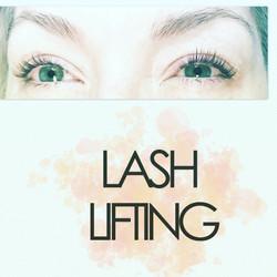 Lash lift and tint