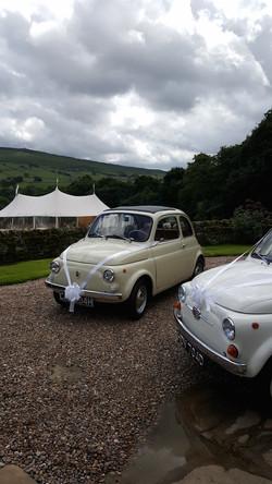 Fiat 500 wedding