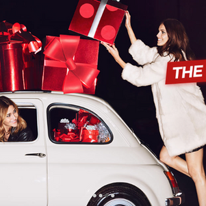 Sunny the Fiat 500 features in a photoshoot for make up brand Kiko Milano in London.