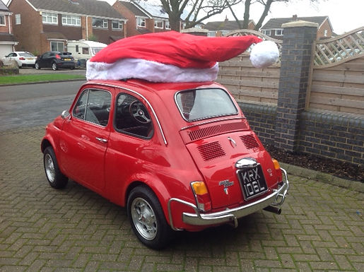 Fiat 500 Appears In Hinckley Times