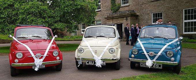 Fiat 500 Hire Wins Wedding Award