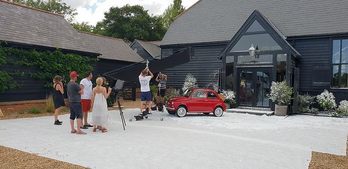 Fiat 500 Stars in Next Catalogue Shoot