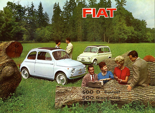 Fiat 500 Hire Heads Off To The Goodwood Revival