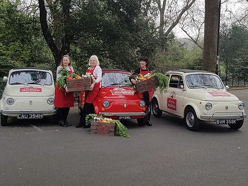 Fiat 500s Add Some Italian Flavour to Birra Moretti Campaign