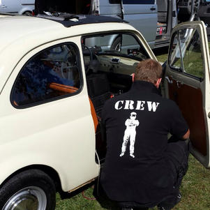 James May takes Sunny the Fiat 500 for a spin in his latest BBC show.