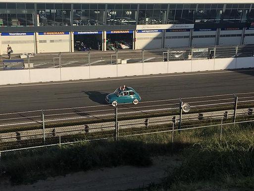 Racing Around A Track