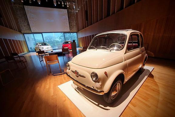 Fiat 500 Is Part Of Fiat UK Press Event