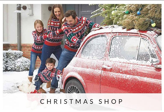 Peacocks Hire A Fiat 500 For Their Christmas Advertising Campaign