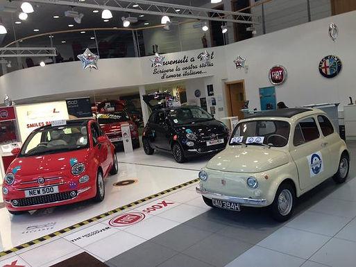 Classic Fiat 500 Versus New Fiat 500