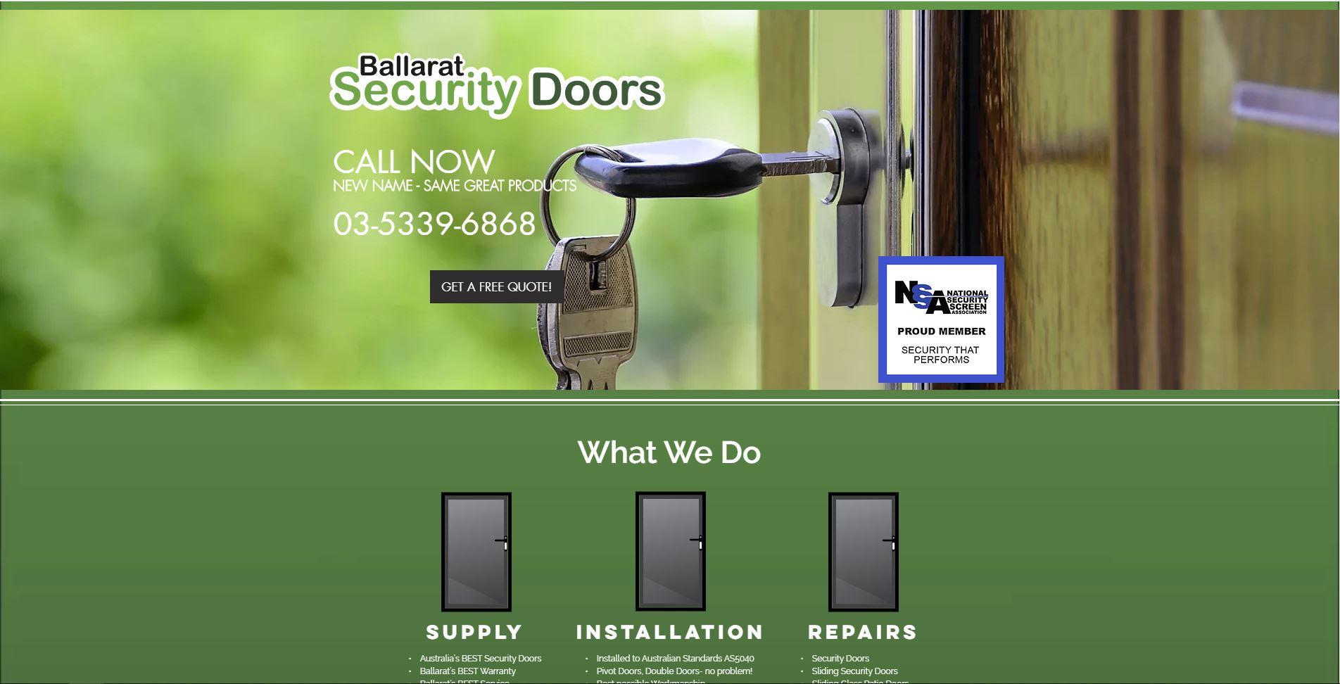 Ballarat Security Doors
