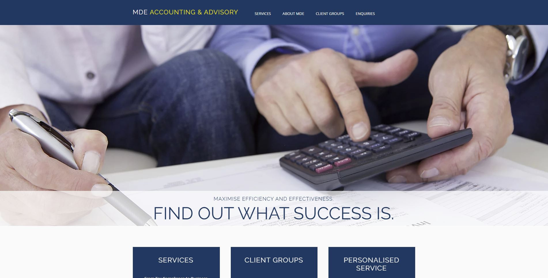 MDE Accounting