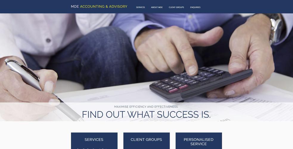 MDE Accounting