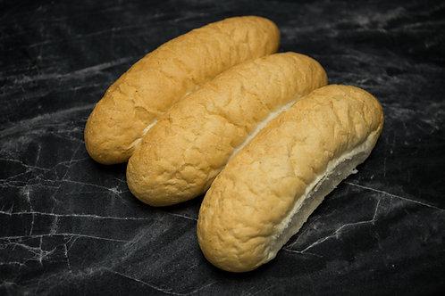 6 Pack Hotdog Rolls