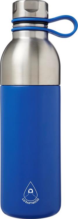 Borraccia Termica 590ml - colore: Silver/Blu