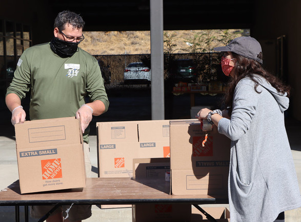 2020 Family Service Association of Redlands Holiday Food Drive