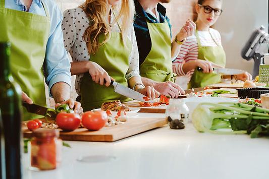 Cours de cuisine team building