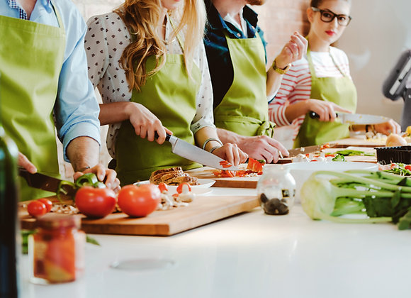 Cooking Class (Up To 20 People)