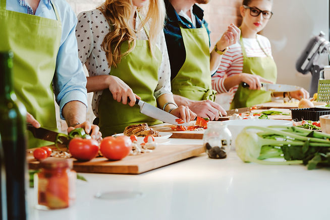 Aula de culinária