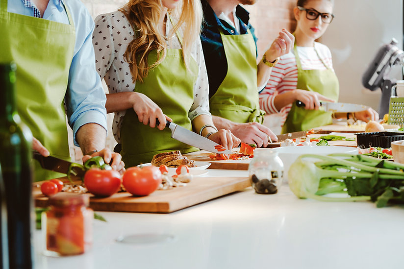 An In-Home Cooking Class