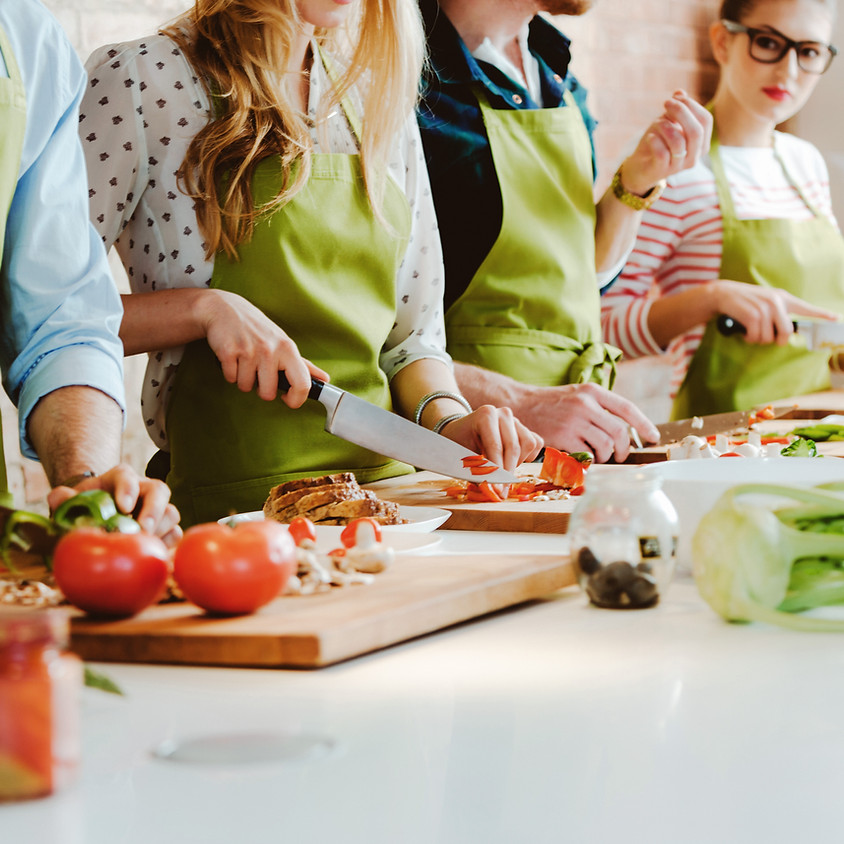 Grades 6-9: Rising Chefs (FRIDAY Fall After-School Cooking Series)