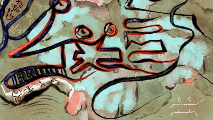 Zansèt-Composition 4