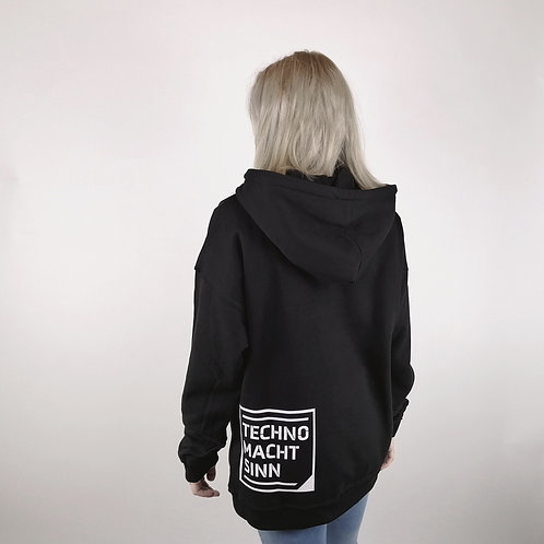 Techno Macht Sinn - Oversize Hoodie