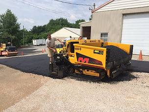 Paving at Emory J. Peters Excavating & Paving Contractor, Inc.