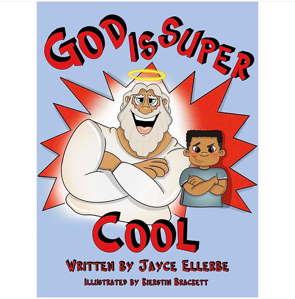 """God Is Super Cool"" Book"