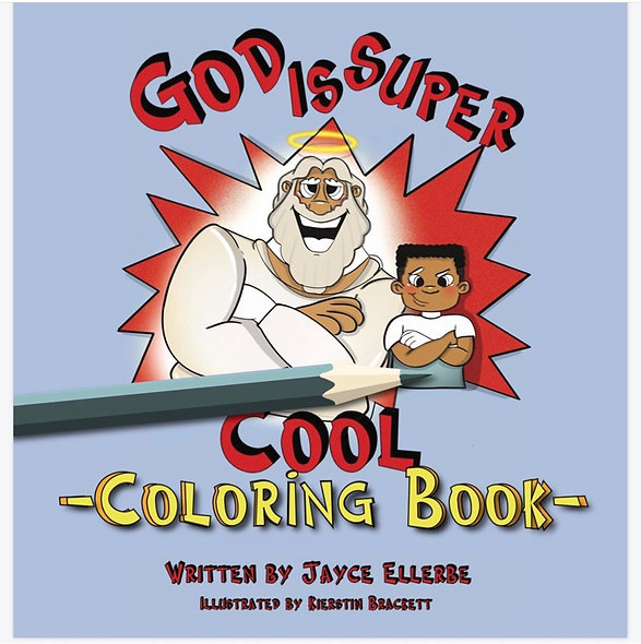 """""""God Is Super Cool"""" Coloring Book"""