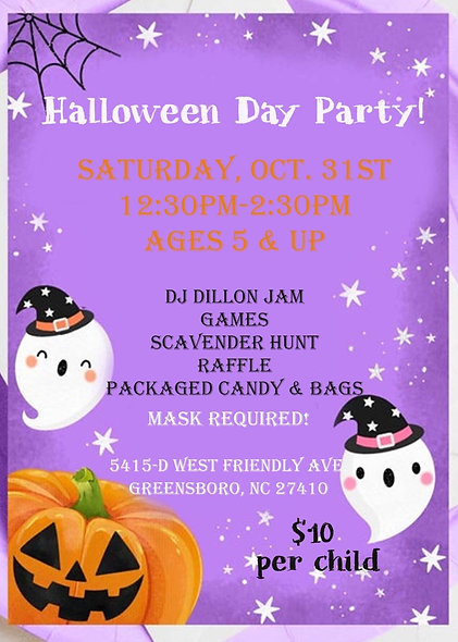 Halloween Day Party for KIDS