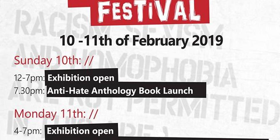 Spoken Word London - Anti-Hate Festival