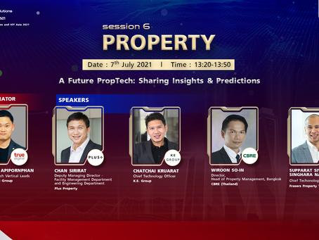 Digital Solutions & IOT Asia 2021 (DSA) : Session 6 - Property (Episode 1)