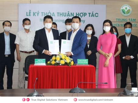 MOU Signing Ceremony between NAEC and TDG VN