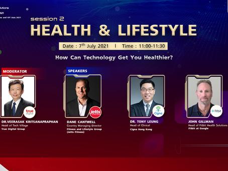 Digital Solutions & IOT Asia 2021 (DSA) : Session 2 - Health & Lifestyle