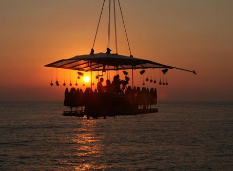 Comidas a 45 metros de altura en la costa yucateca