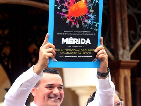Mérida entra a selecta lista de ciudades de la Unesco