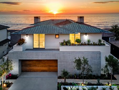 Ventajas del concreto pulido para casas de playa