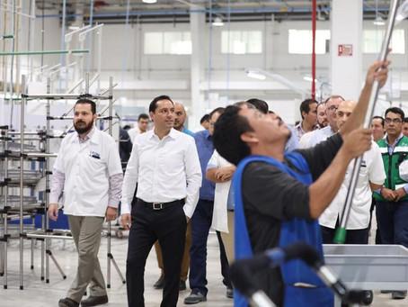 Yucatán, uno de los estados con mayor creación de empleo a nivel nacional en mayo